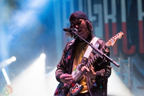 Pierce The Veil performing at Riot Fest Chicago on September 16, 2016. (Photo: Katie Kuropas/Aesthetic Magazine)