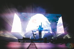 Porter Robinson performing at the Bumbershoot Music Festival in Seattle on September 4, 2016. (Photo: Daniel Hager/Aesthetic Magazine)