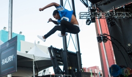 Raury performs at the Life Is Beautiful Music Festival in Las Vegas on September 23, 2016. (Photo: Meghan Lee/Aesthetic Magazine)