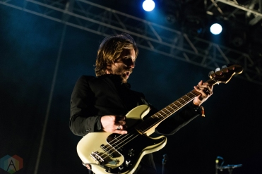 Refused performing at Riot Fest Chicago on September 16, 2016. (Photo: Katie Kuropas/Aesthetic Magazine)