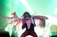 Rob Zombie performing at Riot Fest Chicago on September 18, 2016. (Photo: Katie Kuropas/Aesthetic Magazine)