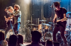 Romes performing at the Mod Club in Toronto on September 3, 2016. (Photo: Andrew Hartl/Aesthetic Magazine)
