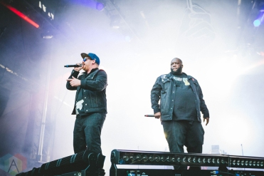 Run The Jewels performing at the Bumbershoot Music Festival in Seattle on September 3, 2016. (Photo: Daniel Hager/Aesthetic Magazine)