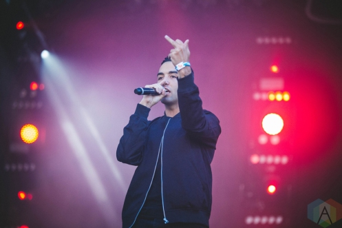 Ryan Caraveo performing at the Bumbershoot Music Festival in Seattle on September 3, 2016. (Photo: Daniel Hager/Aesthetic Magazine)