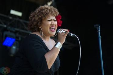 Simone Denny performing at the Toronto Urban Roots Festival in Toronto on September 16, 2016. (Photo: Morgan Hotston/Aesthetic Magazine)