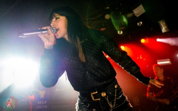 Sleigh Bells performing at at Le Poisson Rouge in New York City on September 8, 2016. (Photo: Alx Bear/Aesthetic Magazine)