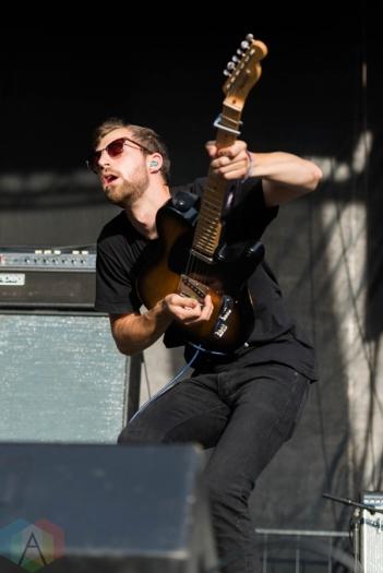 Somos performing at Riot Fest Chicago on September 16, 2016. (Photo: Katie Kuropas/Aesthetic Magazine)