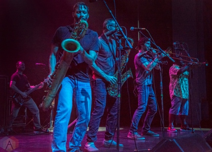 Streetlight Manifesto performs at the Danforth Music Hall in Toronto on September 23, 2016. (Photo: Andrew Hartl/Aesthetic Magazine)