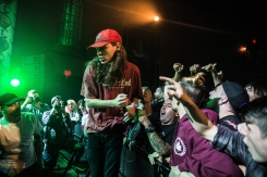 Knocked Loose performs at the Opera House in Toronto on September 17, 2016. (Photo: Kelsey Giesbrecht/Aesthetic Magazine)