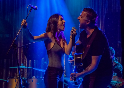 The Wind And The Wave performing at the Mod Club in Toronto on September 3, 2016. (Photo: Andrew Hartl/Aesthetic Magazine)