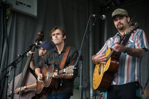 The Deslondes performing at the Toronto Urban Roots Festival in Toronto on September 17, 2016. (Photo: Morgan Hotston/Aesthetic Magazine)