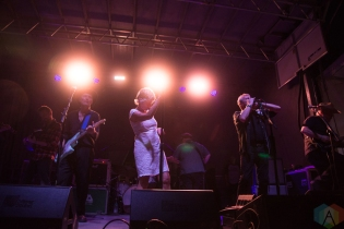 The Mekons performing at the Toronto Urban Roots Festival in Toronto on September 18, 2016. (Photo: Morgan Hotston/Aesthetic Magazine)