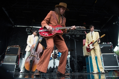 The Sadies performing at the Toronto Urban Roots Festival in Toronto on September 17, 2016. (Photo: Morgan Hotston/Aesthetic Magazine)