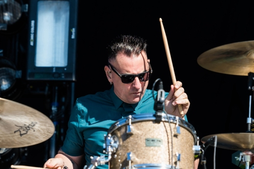 Tiger Army performing at Riot Fest Chicago on September 18, 2016. (Photo: Katie Kuropas/Aesthetic Magazine)