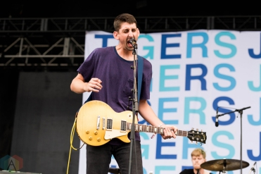 Tigers Jaw performing at Riot Fest Chicago on September 16, 2016. (Photo: Katie Kuropas/Aesthetic Magazine)