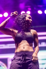 TLC performs at Echo Beach in Toronto on September 24, 2016. (Photo: Brandon Newfield/Aesthetic Magazine)