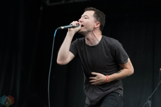 Touche Amore performing at Riot Fest Chicago on September 16, 2016. (Photo: Katie Kuropas/Aesthetic Magazine)