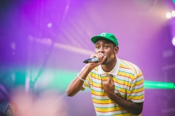 Tyler The Creator performing at the Bumbershoot Music Festival in Seattle on September 2, 2016. (Photo: Daniel Hager/Aesthetic Magazine)