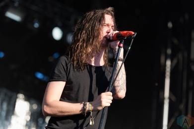 Underoath performing at Riot Fest Chicago on September 18, 2016. (Photo: Katie Kuropas/Aesthetic Magazine)