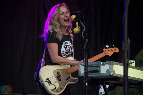 Whitehorse performing at the Toronto Urban Roots Festival in Toronto on September 17, 2016. (Photo: Morgan Hotston/Aesthetic Magazine)