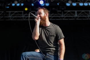 The Wonder Years performing at Riot Fest Chicago on September 18, 2016. (Photo: Katie Kuropas/Aesthetic Magazine)