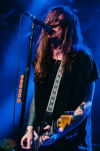 Against Me performs at the Commodore Ballroom in Vancouver on October 25, 2016. (Photo: Timothy Nguyen/Aesthetic Magazine)