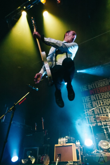 The Interrupters perform at the Rickshaw Theatre in Vancouver on October 12, 2016. (Photo: Timothy Nguyen/Aesthetic Magazine)