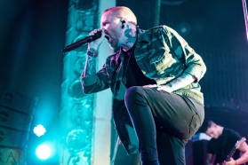 Memphis May Fire performs at the Opera House in Toronto on October 14, 2016. (Photo: Claudia Kielb/Aesthetic Magazine)