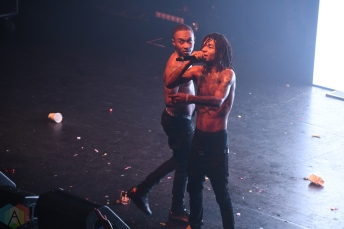 Rae Sremmurd performs at The National in Richmond, Virginia on October 25, 2016. (Photo: Kathryn DeFrank/Aesthetic Magazine)