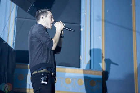 Bastille performs at the Danforth Music Hall in Toronto on October 6, 2016. (Photo: Katrina Lat/Aesthetic Magazine)