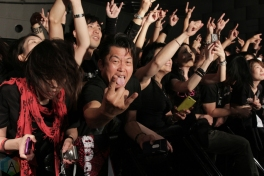 Children Of Bodom performs at Namba Hatch in Osaka, Japan on October 11, 2016. (Photo: Theo Rallis/Aesthetic Magazine)