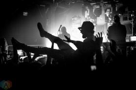 Crystal Castles perform at the Hoxton in Toronto on October 12, 2016. (Photo: Brendan Albert/Aesthetic Magazine)