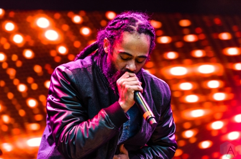 Damian Marley performs at the Meadows Music Festival at Citi Field in Queens, New York on October 1, 2016. (Photo: Saidy Lopez/Aesthetic Magazine)