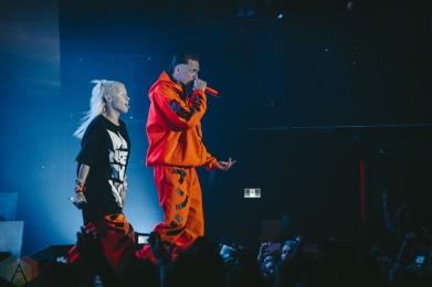 Die Antwoord performing at Rebel Nightclub in Toronto on October 16, 2016. (Photo: Anthony D'Elia/Aesthetic Magazine)