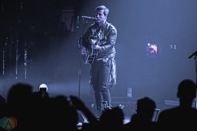 Our Lady Peace performs at Massey Hall in Toronto on October 24, 2016. (Photo: Francesca Ludikar/Aesthetic Magazine)
