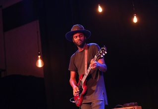 Gary Clark Jr performs at the Hilton Austin Hotel in Austin, Texas on October 28, 2016 as part of the 2016 Hilton Concert Series. (Photo: Rick Kern/Getty)