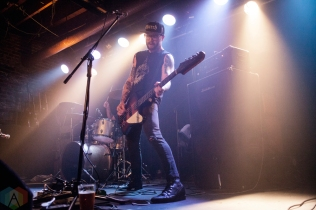 HighKicks perform at Lucky Bar in Victoria, British Columbia on October 21, 2016. (Photo: Leanne Green/Aesthetic Magazine)