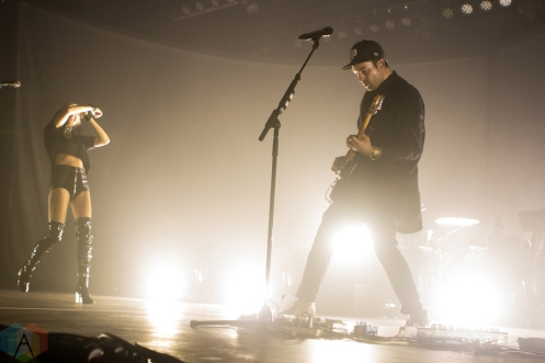 Phantogram performs at the Marquee Theatre in Tempe, Arizona on September 30, 2016. (Photo: Meghan Lee/Aesthetic Magazine)