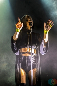 Phantogram performs at the Phoenix Concert Theatre in Toronto on October 19, 2016. (Photo: Mike Fowler/Aesthetic Magazine)