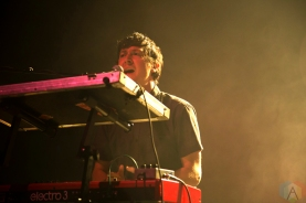Born Ruffians perform at the Danforth Music Hall in Toronto on October 20, 2016. (Photo: Mike Fowler/Aesthetic Magazine)