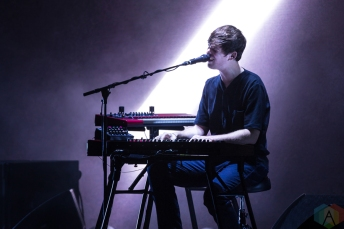 James Blake performs at Massey Hall in Toronto on October 7, 2016. (Photo: Brendan Albert/Aesthetic Magazine)