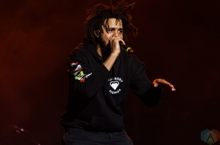 J Cole performs at the Meadows Music Festival at Citi Field in Queens, New York on October 1, 2016. (Photo: Saidy Lopez/Aesthetic Magazine)