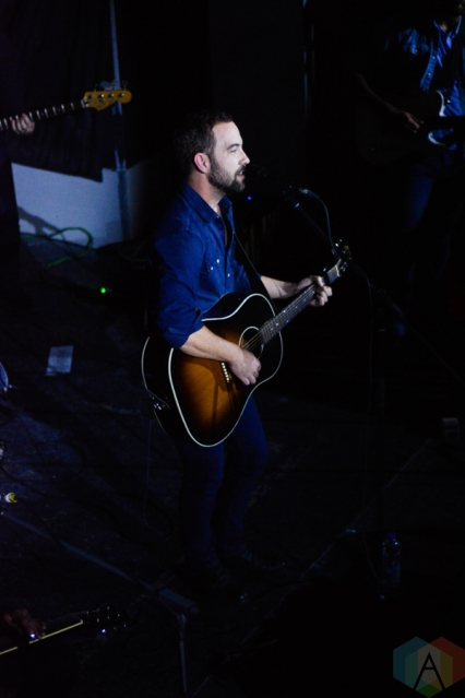 Justin Rutledge performs at the Great Hall in Toronto on October 22, 2016. (Photo: Tyler Roberts/Aesthetic Magazine)