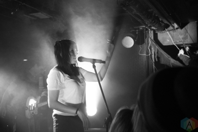 K Flay performs at the Biltmore Cabaret in Vancouver on October 29, 2016. (Photo: Ryan Deasley/Aesthetic Magazine)