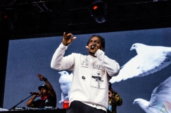 Pusha T performs at the Meadows Music Festival at Citi Field in Queens, New York on October 2, 2016. (Photo: Saidy Lopez/Aesthetic Magazine)