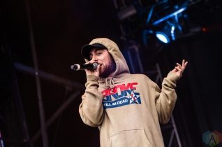 Mac Miller performs at the Meadows Music Festival at Citi Field in Queens, New York on October 2, 2016. (Photo: Saidy Lopez/Aesthetic Magazine)