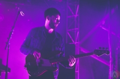 The 1975 performs at the Meadows Music Festival at Citi Field in Queens, New York on October 2, 2016. (Photo: Saidy Lopez/Aesthetic Magazine)