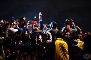 Kanye West performs at the Meadows Music Festival at Citi Field in Queens, New York on October 2, 2016. (Photo: Saidy Lopez/Aesthetic Magazine)