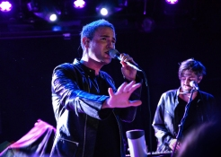 Morgxn performs at Le Poisson Rouge in New York City on October 11, 2016. (Photo: Alx Bear/Aesthetic Magazine)