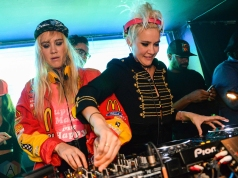 NERVO performs at Lavo Nightclub in New York City on October 27, 2016. (Photo: Alx Bear/Aesthetic Magazine)